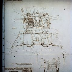 LM Schematic | The Apollo Lunar Module (LM) was the lander p… | Flickr