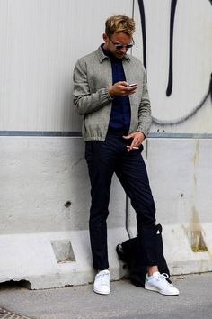 new style 44d6a f9d96 42 Best Stan smith outfit images in 2016 | Man fashion, Stan ...