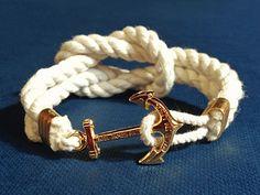 Anchor Bracelet - Overboard Knot - by Kiel James Patrick