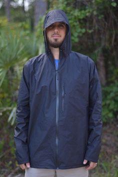 ZPacks.com Ultralight Backpacking Gear - Waterproof Breathable Cuben Fiber Rain Jacket