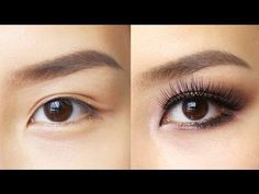 Easy Eye Makeup for Hooded or Asian Eyes - YouTube