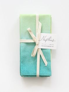 Our napkins come in set of 4 and are each sewn & packaged with care!