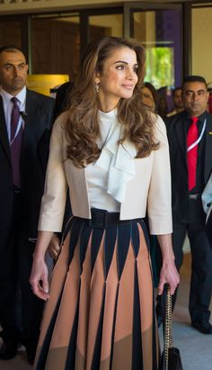 Queen Rania at the Global Women's Forum in Dubai Dubai, UAE/ February 23, 2016, Flickr