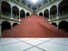 Domestication of a Pyramid, by Magdalena Jetelovà (1991)