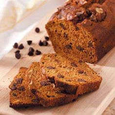 Chocolate Pumpkin Bread Recipe