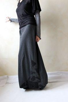 Long Skirt Winter skirt Floor Length skirt Maxi skirt by LoreTree, €68.00