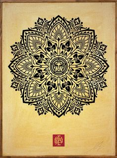 Art for Tibet IV: auction in NYC to benefit Students for a Free Tibet, Shepard Fairey poster