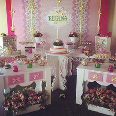 Fiesta floral. Cartel Regina