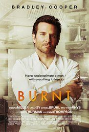 Bradley Cooper plays a chef & recovering addict. Incredible movie if you're a foodie & worked in the industry. Great portrayal of chefing & addiction.