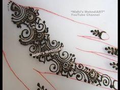 YouTube #quick #arabic #henna #mehendi #mehandi #mehndi #strip #henna #mehndi #design #tutorial