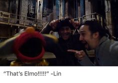 Lin is a child and I love it<<<CUTE!
