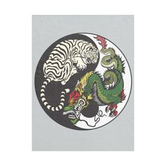 ... in feng shui | ZAZZLE | Pinterest | Feng shui Tigers and Dragon