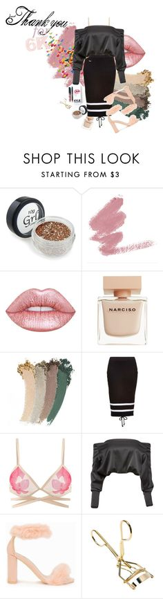"""""""Thank You All So Much For My 6 K Followers"""" by annefoster99 ❤ liked on Polyvore featuring Lime Crime, Narciso Rodriguez, Gucci, Kylie Cosmetics, Puma, Anthony Vaccarello and Nly Shoes"""