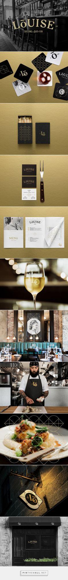 Taverne Louise Restaurant Branding by lg2 | Fivestar Branding Agency – Design and Branding Agency & Curated Inspiration Gallery #restaurantdesign #restaurantbranding #branding #brand #brandidentity #design #designinspiration