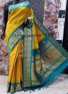 Gadwal Sarees Silk, Kanjivaram Sarees Silk, Pochampally Sarees, Latest Saree Blouse, Pattu Saree Blouse Designs, Kurti Neck Designs, Fancy Sarees Party Wear, South Silk Sarees, Saree Hairstyles