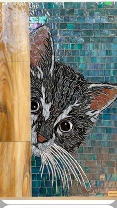 Mosaic Garden Art, Mosaic Tile Art, Mosaic Pots, Mosaic Crafts, Mosaic Designs, Mosaic Patterns, Mosaic Animals, Mosaic Flowers, Sculpture Painting