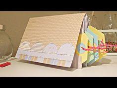 ▶ Álbum scrapbook fácil. Cómo hacer un álbum para TAGS. TUTORIAL - YouTube