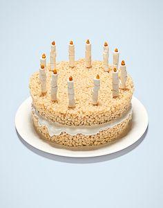 Love it. Rice Crispy Cake.