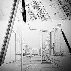✒ 201 #boutiquehotel #hoteldesign #guestroom #handdraw #sketch #perspective #interiorsketch #interior #design #interiordesign #arquitetapage #arquitectura #arquisemteta #archisketcher #papodearquiteto #bestsketch #archsketch #arch_sketcher #arch_more #ar_sketch #s2arquitetura #floorplan #flarchitect #chiangmai #tamainteriordesign #tamasketch