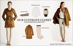 "February 2012   Shopbop ""Our Ultimate Closet"" The Workwear Edition 14 Pieces 10 Looks  [Look 02]"