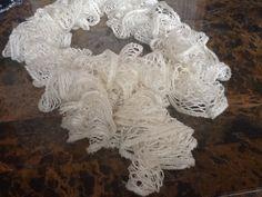 Hand made crochet scarf $15.00