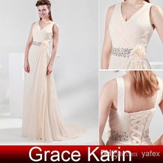 Elegant Style Chiffon Bridesmaid Dresses Floor Length Sheath Evening Dress Beaded Sequins Formal Gown CL4364, $24.5 | DHgate.com