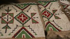 pictorial native american beadwork   #craft #daytrip