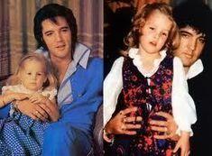 sweet little Lisa and her daddy Elvis - elvis-aaron-presley-and-lisa-marie-presley Photo
