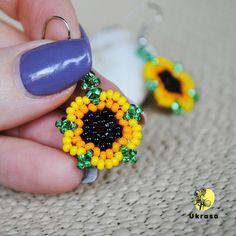 Sunflower earrings Yellow seed bead earrings Flower earrings Dainty earrings Minimalist earrings Sunflower jewelry for women Seed Bead Necklace, Seed Bead Jewelry, Bead Jewellery, Seed Beads, Silver Jewelry, Silver Ring, Jewelry Bracelets, Dainty Jewelry, Cheap Jewelry