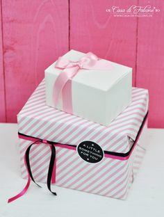 Geschenkpapier I Geschenkverpackung I Geschenkschachtel I packaging I Casa di Falcone