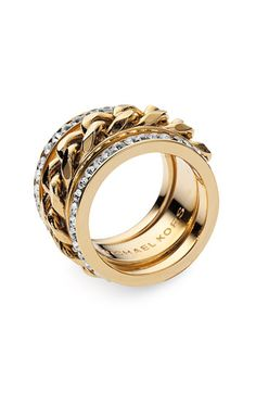 michael kors stackable rings-this is too cool!  I'll have to check into this, cuz i'm wantin' it!