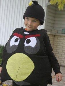 How To Make An Angry Bird Halloween Costume