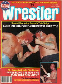 ~ Harley Race beats Ric Flair for the NWA World Championship ~