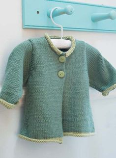 Free knitting pattern for baby cardigan jacket - #ad Gwen in Debbie Bliss Cashmerino Aran Sizes To Fit Ages: 3-24 Months. tba by sybil
