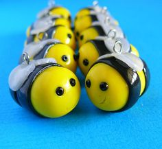 Polymer Clay dance | polymer clay bees | Flickr - Photo Sharing!
