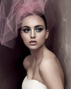 colored veils... love.