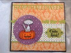 Halloween card #2 - YouTube