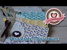 ▶ Tutorial: Minialbum basteln mit Produkten von Stampin' Up! - YouTube