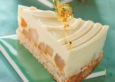 Recette de Mousse au miel sur son lit de poires caramélisées | Guy Demarle