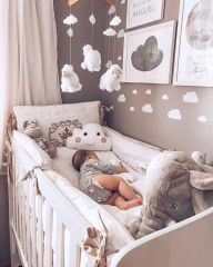 30 elegant modern nursery design and decor ideas for babies # baby . 30 elegant modern nursery design and decor ideas for babies # baby . Baby Nursery Decor, Baby Bedroom, Baby Boy Rooms, Baby Boy Nurseries, White Nursery, Baby Nursery Ideas For Girl, Room For Baby Girl, Baby Girls, Unisex Nursery Ideas