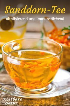 Sea buckthorn tea strengthens the immune system and protects the body- The vitamin C bomb sea buckthorn is the ideal companion in the cold season. Use his power in an aromatic and healthy tea. Source by tcmernaehrungscoaching - Healthy Smoothies, Healthy Drinks, Healthy Recipes, Sea Buckthorn Tea, Herbal Tea Benefits, Herbs For Health, Tea Blends, Tea Recipes, Herbalism