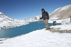 Dani en Tilicho Lake