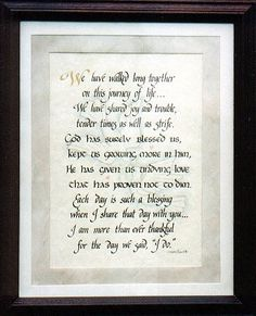 25th Wedding Anniversary Poems | 25th wedding anniversary poem pic