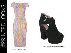 #Desire #Clothing #Prints #Tribal #Aztec #Colour #Fashion #Styling #Dress #Snakeskin