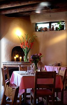 The Pink Adobe & The Guadalupe Cafe   Located in Santa Fe, New Mexico