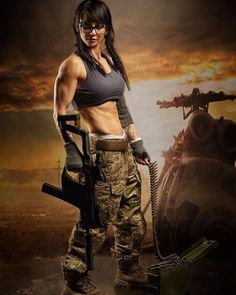 Girl with a Weapon erotic adult games Military girl . Women in the military . Women with guns . Girls with weapons Female Army Soldier, N Girls, Army Girls, Military Girl, Warrior Girl, Military Women, Big Guns, Badass Women, Gi Joe