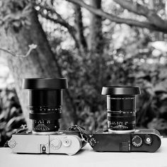 New ventilated shades coming soon designed by @thorstenovergaard #leica 75/1.4 and 75/2.0 #asph #cameraporn #leicam10