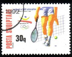 Albania Stamps | Stamp from Albania | Barcelona 1992, Olympic Games | Stamps