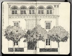 Ian Sidaway Fine Line - the perfect house, Ian Sidaway in Spain.