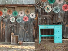 Love color with old barns